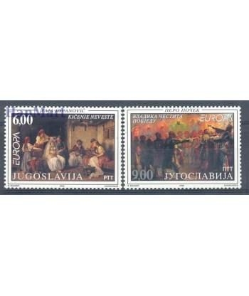 Jugosławia 1998 Mi 2855-2856 Czyste **