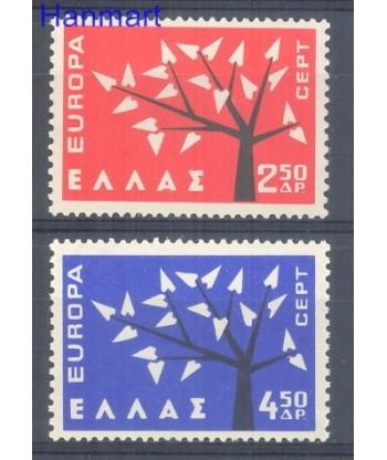 Grecja 1962 Mi 796-797 Czyste **