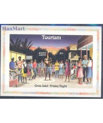 Saint Lucia 1986 Mi bl 51 Czyste **