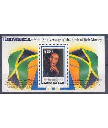 Jamajka 1995 Mi bl 43 Czyste **