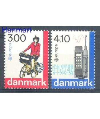 Dania 1988 Mi 921-922 Czyste **