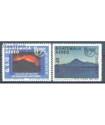 Gwatemala 1991 Mi 1321-1322 Czyste **