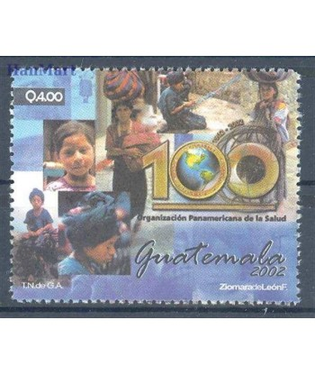 Gwatemala 2002 Mi 1386 Czyste **