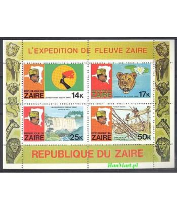 Kongo Kinszasa / Zair 1979 Mi bl 24 Czyste **