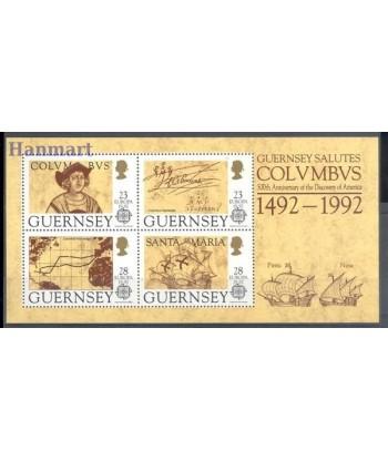 Guernsey 1992 Mi bl 8 Czyste **