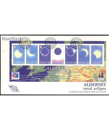 Alderney 1999 Mi bl 6 FDC