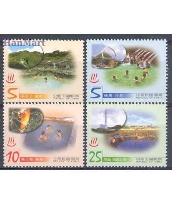Tajwan 2003 Mi 2910-2913 Czyste **
