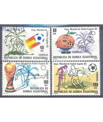 Gwinea Równikowa 1981 Mi 1630-1633 Czyste **