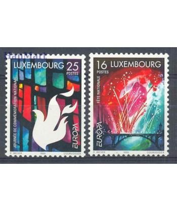 Luksemburg 1998 Mi 1451-1452 Czyste **