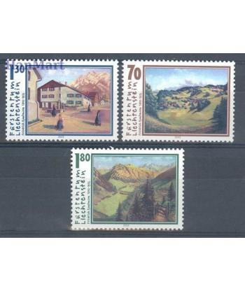 Liechtenstein 2002 Mi 1286-1288 Czyste **