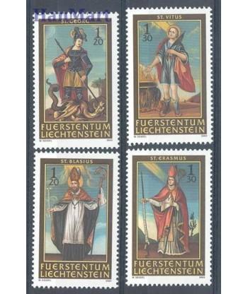 Liechtenstein 2003 Mi 1326-1329 Czyste **