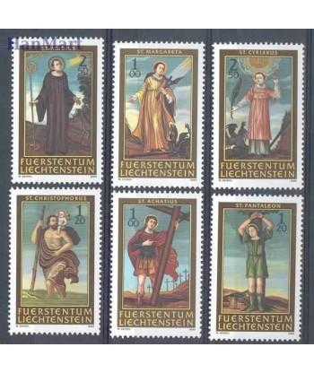 Liechtenstein 2004 Mi 1341-1346 Czyste **