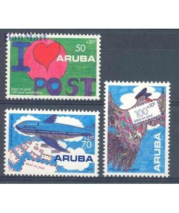 Aruba 1992 Mi 113-115 Czyste **