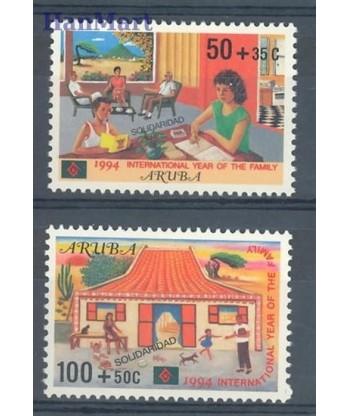 Aruba 1994 Mi 140-141 Czyste **