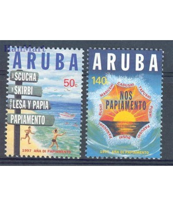 Aruba 1997 Mi 188-189 Czyste **