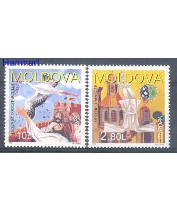 Mołdawia 1997 Mi 236-237 Czyste **