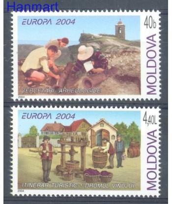 Mołdawia 2004 Mi 487-488 Czyste **