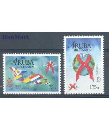 Aruba 2000 Mi 254-255 Czyste **