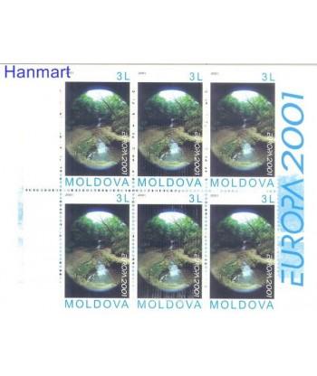 Mołdawia 2001 Mi 4 Czyste **