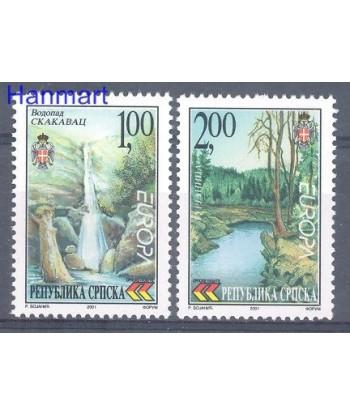 Republika Serbska 2001 Mi  Czyste **