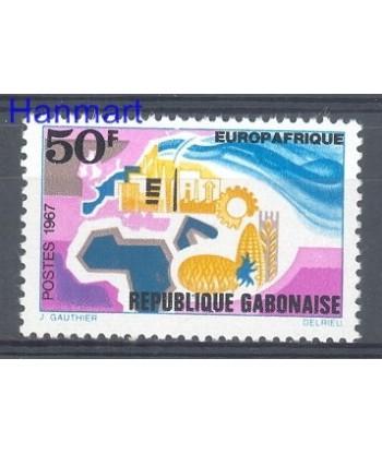 Gabon 1967 Mi 282 Czyste **