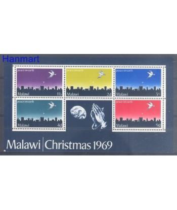 Malawi 1969 Mi bl 16 Czyste **