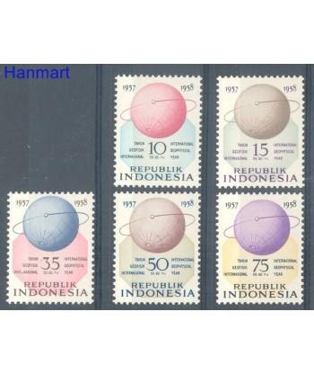Indonezja 1958 Mi 224-228 Czyste **
