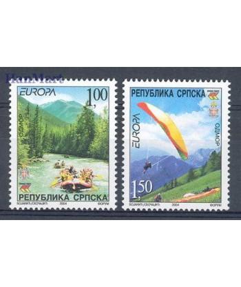 Republika Serbska 2004 Mi 300-301 Czyste **