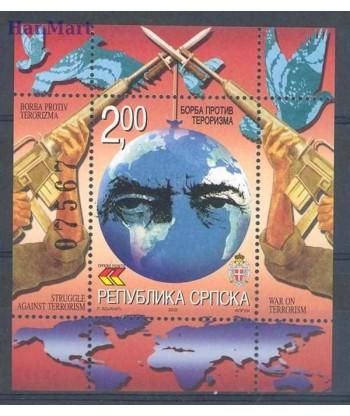 Republika Serbska 2002 Mi bl 6 Czyste **