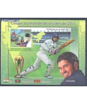 Togo 2011 Mi bl 06 Czyste **