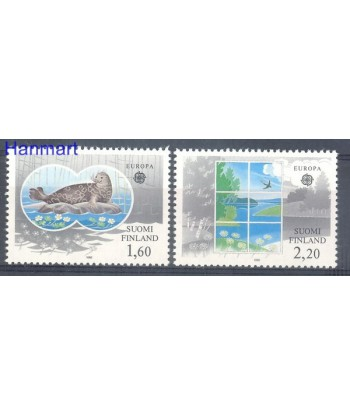 Finlandia 1986 Mi 985-986 Czyste **