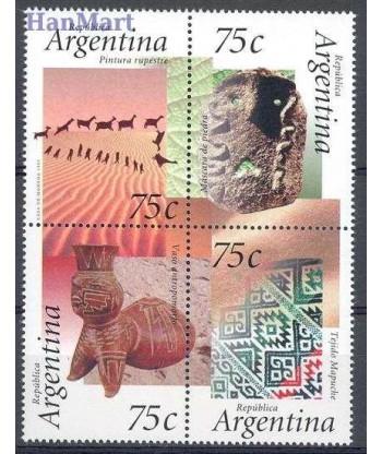 Argentyna 1995 Mi 2260-2263 Czyste **