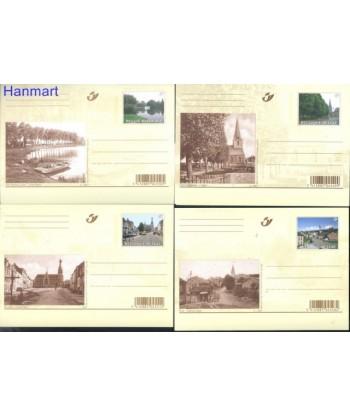 Belgia 2007 Mi 160-169 Karty pocztowe czyste
