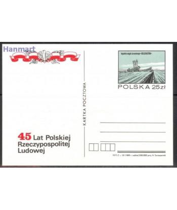 Polska 1989 Mi 1002-1005 Karty pocztowe czyste