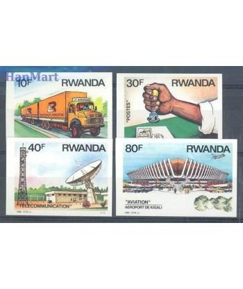 Rwanda 1986 Mi  Czyste **