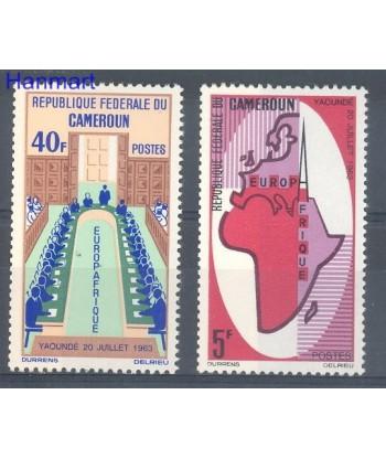 Kamerun 1965 Mi 435-436 Czyste **