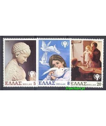 Grecja 1979 Mi 1362-1364 Czyste **