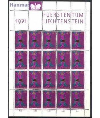 Liechtenstein 1971 Mi ark 543 Czyste **