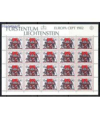 Liechtenstein 1982 Mi 791-792 Czyste **