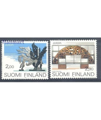 Finlandia 1993 Mi 1206-1207 Czyste **