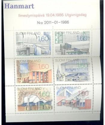 Finlandia 1986 Mi mh 17 Czyste **