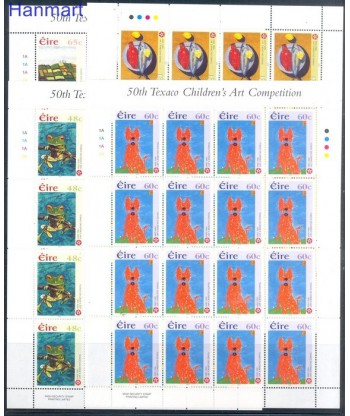 Irlandia 2004 Mi 1584-1587 Czyste **