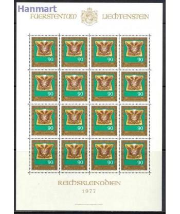 Liechtenstein 1977 Mi 673-676 Czyste **
