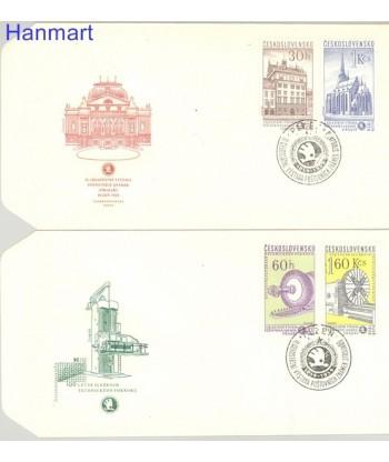 Czechosłowacja 1959 Mi 1133-1136 FDC