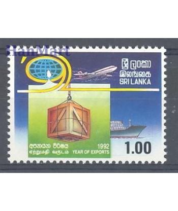 Sri Lanka 1992 Mi 975 Czyste **