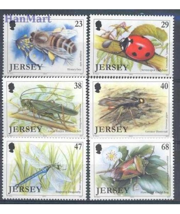Jersey 2002 Mi 1034-1039 Czyste **