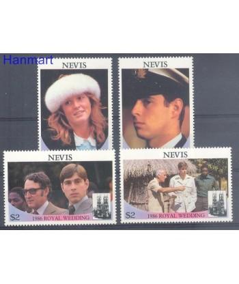 Nevis 1986 Mi 393-396 Czyste **