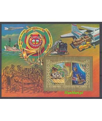 Republika Środkowoafrykańska 1978 Mi bl 31 Czyste **