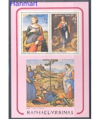 Wyspy Świętego Tomasza i Książęca 1983 Mi bl 119 Czyste **
