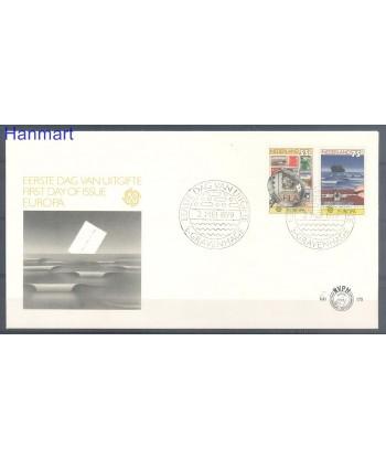 Holandia 1979 Mi 1140-1141 FDC